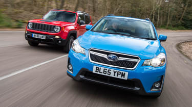 Subaru XV vs Jeep Renegade - header