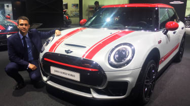 Best cars of the 2016 Paris Motor Show - Richard, MINI Clubman JCW