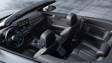2019 Audi A5 Cabriolet - interior