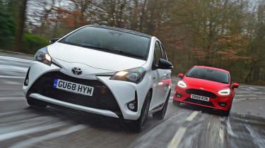 Toyota Yaris GR Sport vs Ford Fiesta ST-Line - head-to-head