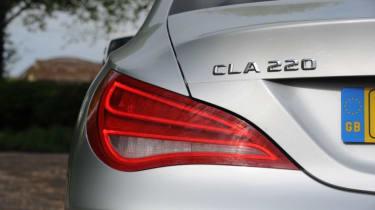 Used Mercedes CLA - rear light