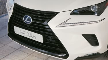Lexus NX 300h Sport - grille