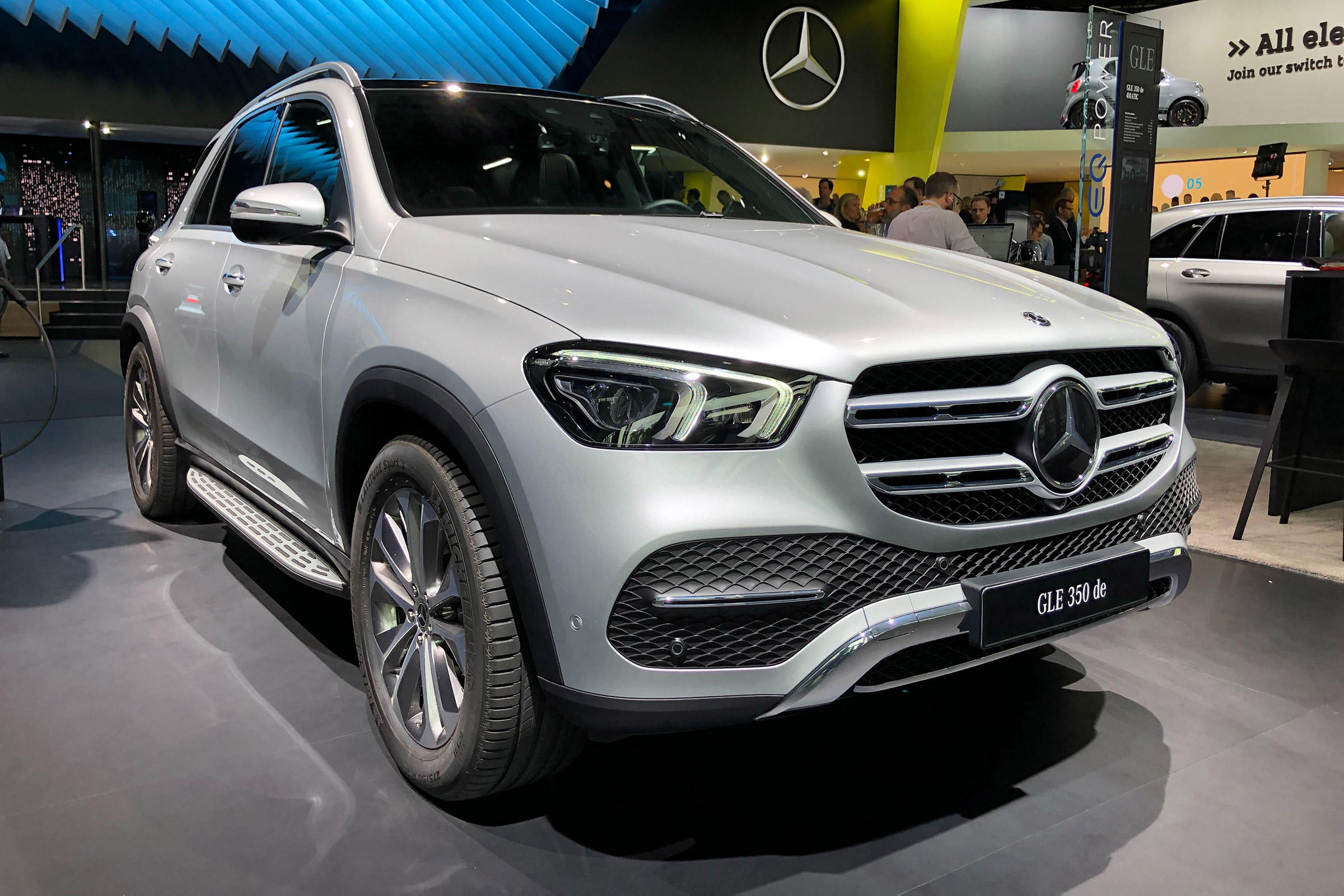 New Mercedes GLE 350 de diesel plug-in to start from over ...