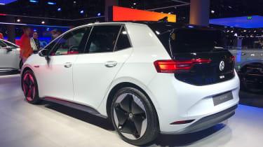 Volkswagen ID.3. - rear 3/4 static Frankfurt