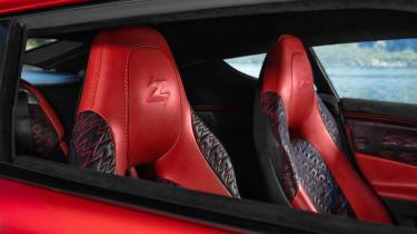 Aston Martin Vanquish Zagato - seats