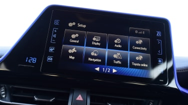 Toyota C-HR - infotainment