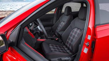 Volkswagen Polo GTI 2018 seats