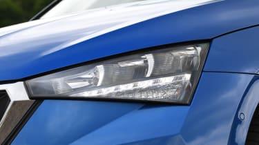 Skoda Scala headlight