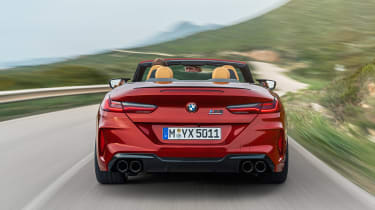 BMW M8 Competition Convertible - full rear