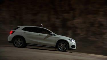 Mercedes GLA 220 CDI pan