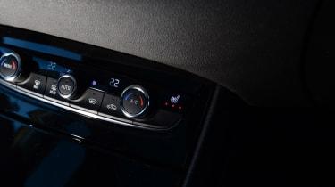 Vauxhall Grandland X - centre console controls