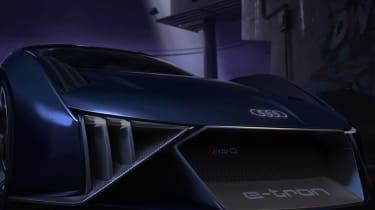 Audi RSQ e-tron Concept - front animated