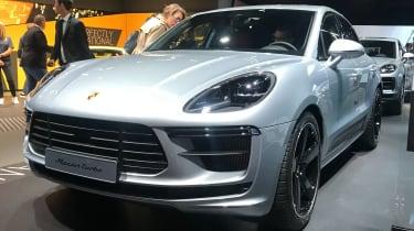 Porsche Macan Turbo - front 3/4 static Frankfurt