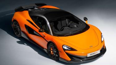McLaren 600LT - above