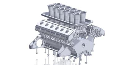 GTO Engineering Project Moderna - engine