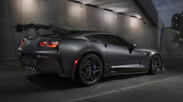 Chevrolet Corvette ZR1 rear