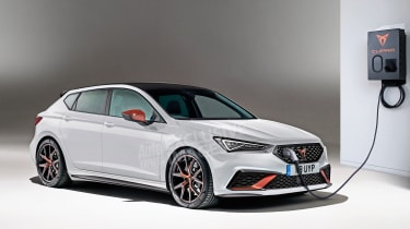 Cupra Leon - front (watermarked)