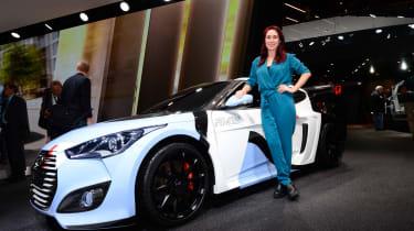 Hyundai i20 WRC concept - Rebecca Chaplin