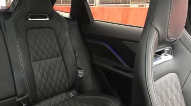 Jaguar F-Pace SVR - back seats