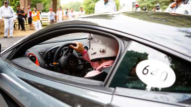 McLaren 600LT - driving