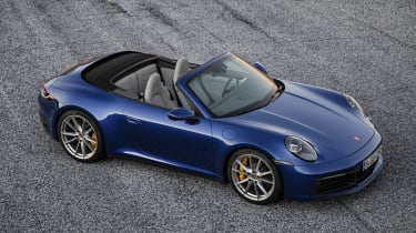 Porsche 911 Cabriolet - above