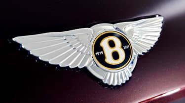 Bentley Flying Spur - studio Bentley badge