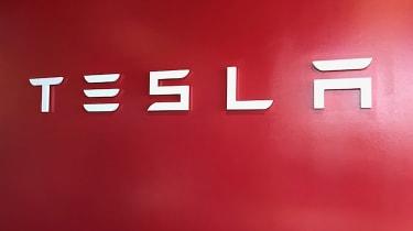Tesla Factory Tour - sign