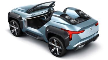 Mitsubishi MI-TECH concept - rear static