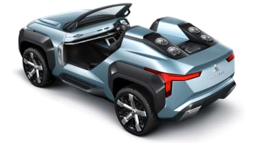 Mitsubishi MI-TECH concept - rear static