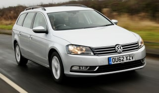 Volkswagen Passat Estate front tracking