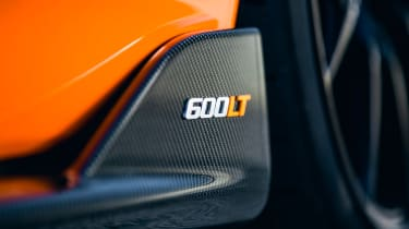 McLaren 600LT - 600LT badge