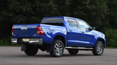 Used Toyota Hilux - rear