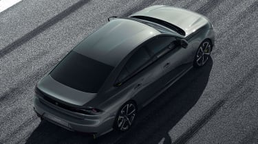 Peugeot 508 Sport Engineered concept - rear above