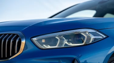 BMW 1 Series - front light