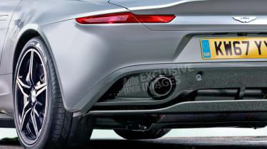 Aston Martin Vantage - rear detail (watermarked)