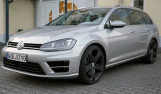 VW Golf R Estate front quarter