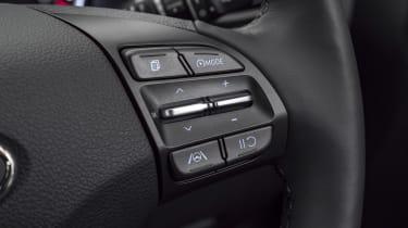 New Hyundai i30 steering wheel controls