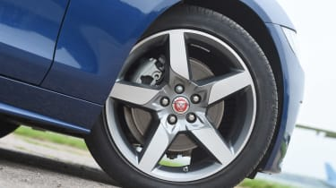 Jaguar XE Long term test - wheel detail