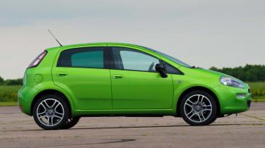 Fiat Punto TwinAir profile