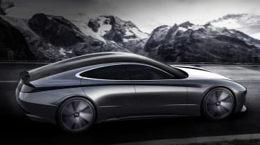 Hyundai Le Fil Rouge concept - side action