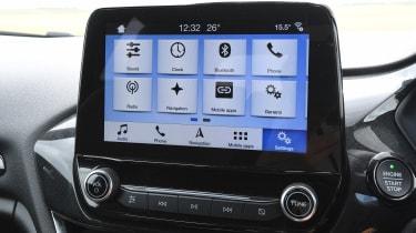 Ford Fiesta ST - infotainment