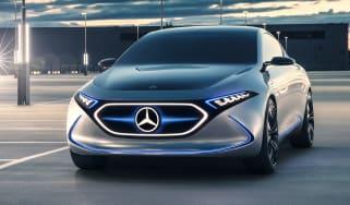 Mercedes EQA concept - front static
