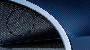 Bugatti Chiron - The Quail fuel cap