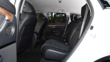 Honda CR-V hybrid - rear seats