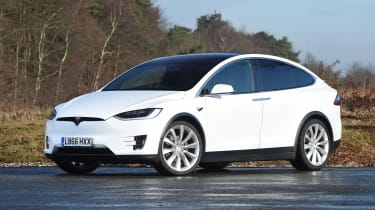 Used Tesla Model X - front