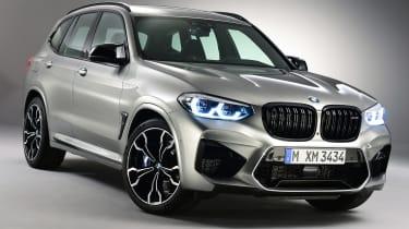 BMW X3M - front