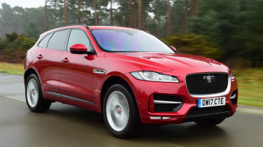 Jaguar F-Pace - front