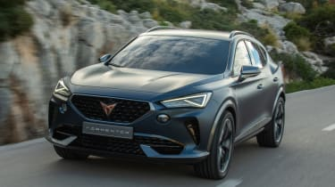 Cupra Formentor - front tracking