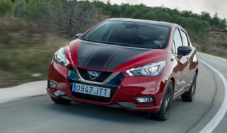 Nissan Micra 2017 petrol - front cornering