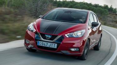 Nissan Micra 2017 petrol - front cornering